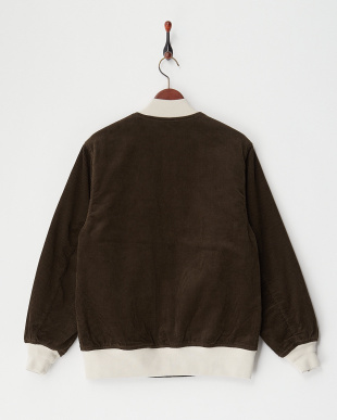 BROWN CORDUROY ARMY JKT見る