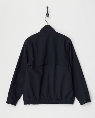 NAVY COTTON TWILL DRIZZLER JKT見る