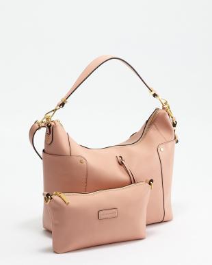 ピンク ドリップ ショルダーバッグを見る