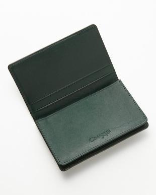 グリーン コードバン カードケースを見る