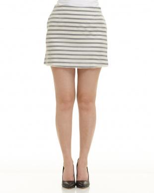グレー ホワイト系 HARVEY FAIRCLOTH オーガンジー重ねスカートを見る