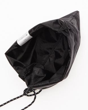 ブラック 巾着ミニショルダー(PURSE MINI SHOULDER)を見る
