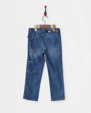 807 ブルー系 Pants(~32)見る