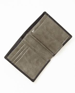 ブラック 二つ折り財布 MENを見る