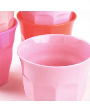 メラミンカップ6色セット Pink&Orange見る