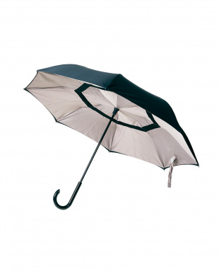 ベージュ(BEBK) 2重傘 circus(サーカス) 晴雨兼用を見る