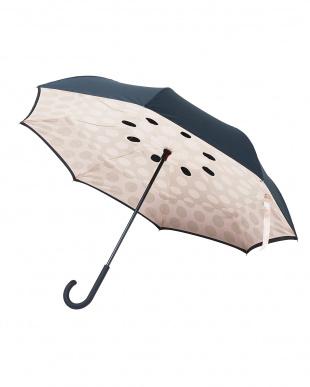 アーモンドベージュ(DBBK) 2重傘circus(サーカス)Dot 晴雨兼用を見る