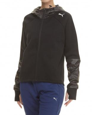 PUMA BLACK EVOSTRIPE スウェットジャケットを見る