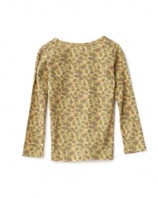 イエロー フライスメイサイプリントTシャツ|GIRLを見る
