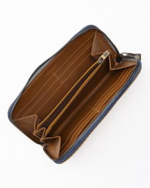 キャラメル/ブルー キャラメル/ブルー 1X 008-2長財布を見る