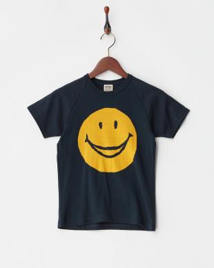 ブラック スマイルニットTシャツを見る