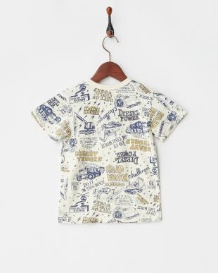 キナリ 働く車総柄Tシャツを見る