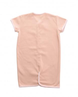 ピンク 2WAY袖付きフリーススリーパー見る