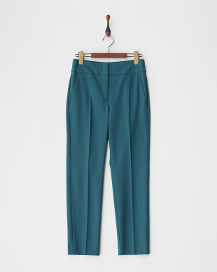 petrol green CACAO Long pantsを見る