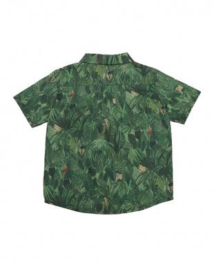 グリーン グリーン Jungle Tapestryシャツ見る