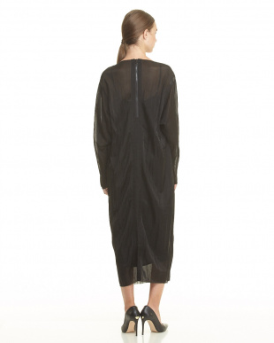 BLACK BLACK SHEER JERSEY DRESSを見る