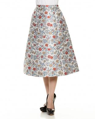 OW ジャガードボリュームスカートを見る