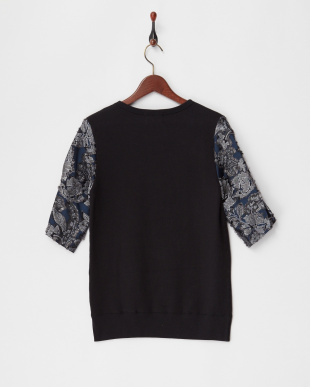A.BLACK CUT JQ SLEEVE SWEATERを見る