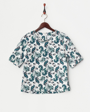 PAISLEY PRINTED GROSGRAIN TOPを見る