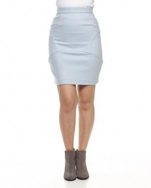 サックス デザイン切り替えスカートを見る