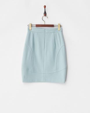 ライトグリーン デザイン切り替えスカートを見る