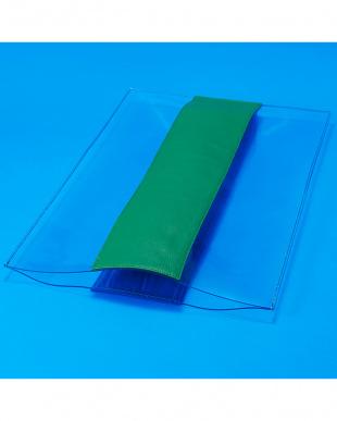 BLUE×GREEN PVCクラッチを見る