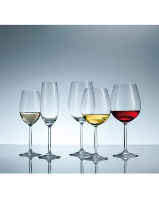 DIVA LIVING ワイングラス(ボルドー)6個セット見る