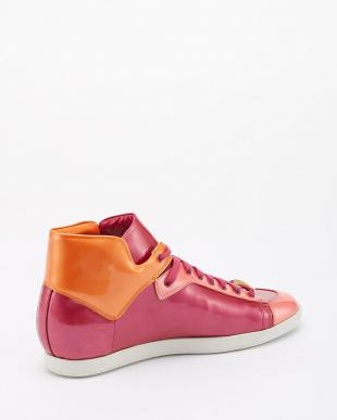 VAR.IBIS パテントカーフ トリコロール(3色)Sneaker flat VAR.IBIS見る