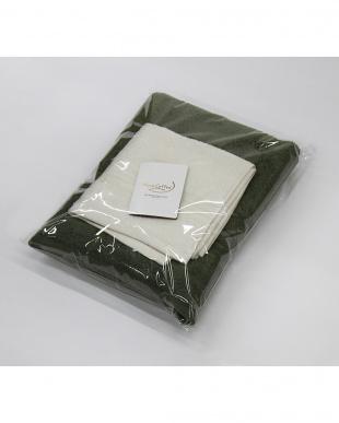 バジル/コーラルホワイト Micro Cotton THE SEASONS  タオルセット バスタオル(バジル)×1、フェイスタオル(コーラルホワイト)×1を見る