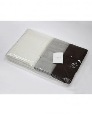 コーラルホワイト/アールグレイ/カカオ Micro Cotton THE SEASONS  タオルセット バスタオル(コーラルホワイト)×1、フェイスタオル(コーラルホワイト×2、アースグレイ×1、カカオ×1)見る