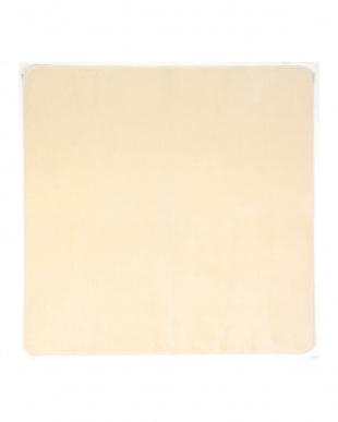 アイボリー 洗えるミンクタッチラグ 130×185cm見る