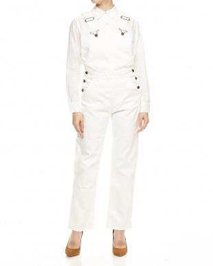 ホワイト 3241090000healthy salopette pants見る