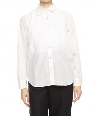 オフホワイト 3265010004ダブルカラーシャツ見る
