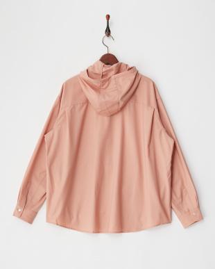 ピンク 0760004007TW2WAYストレッチフードシャツを見る
