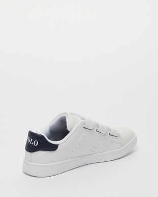 WHITE TUMBLED/NAVY QUINCY COURT EZ│KIDSを見る