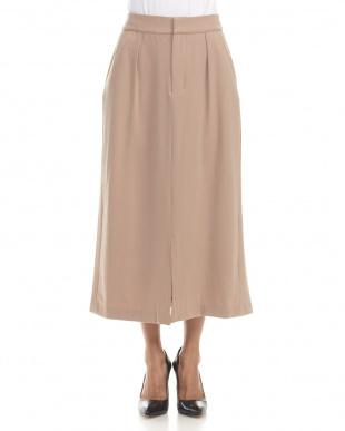 キャメル Sバックリボンロングスカートを見る