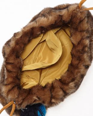 CAMEL エスキモー刺繍巾着見る