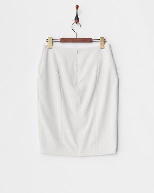 グレー 2WAYストレッチタイトスカート見る