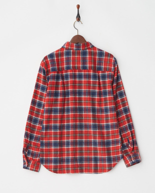 RED ネルチェックシャツ見る