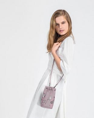 Lilac テキスチャードドローストリングバッグ / TEXTURED DRAWSTRING BAGを見る