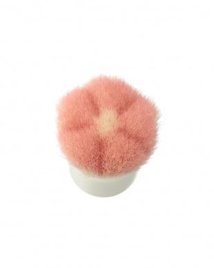 ピンク×ホワイト 洗顔ブラシを見る