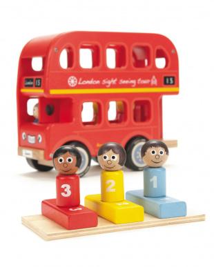 木製トイ ロンドンバスを見る