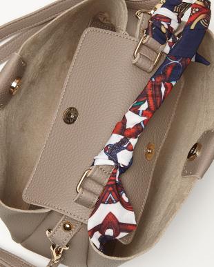 P.Gray スカーフハンドルバッグを見る