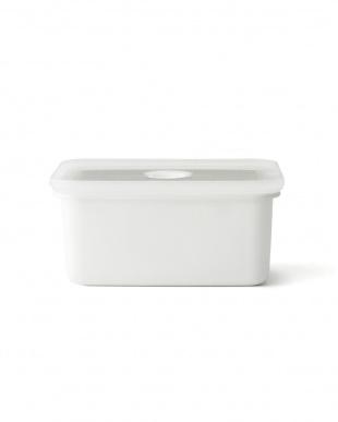 ホワイト 真空琺瑯容器ヴィード深型角容器M・L・LL 3点セットを見る