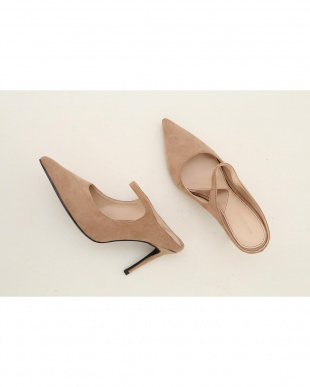 BEIGE Pointed Strap Muleを見る