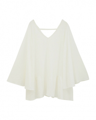 WHITE Flare sleeve topsを見る