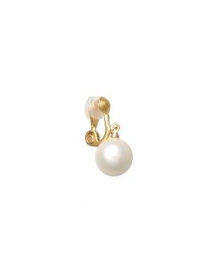 ホワイト/ゴールドカラー Earringを見る