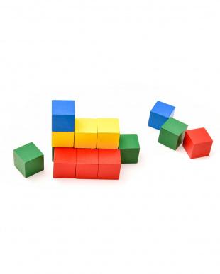 幼児のパズル道場 ずけいブロック見る