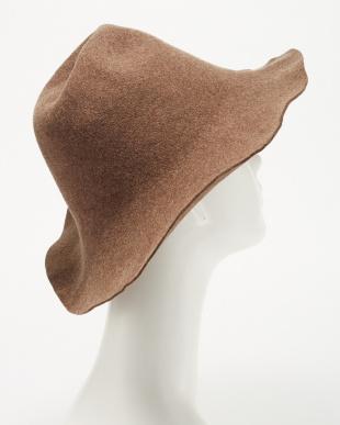 LT.BROWN M/sh:tulip hat見る
