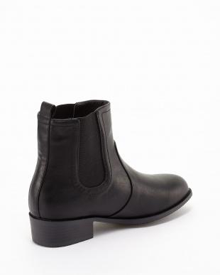 ブラック 晴雨兼用ブーツ見る